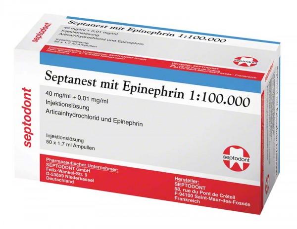 Septanest mit Epinephrin 1:100.000